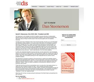 insurance marketing executive bios
